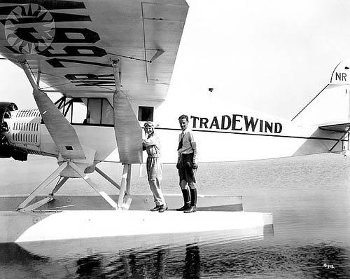 Bermuda Beryl Gwyn Hart Amelia Earhart Ohio Azores Seaplane