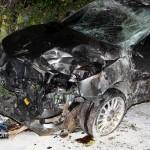 Car Accident Harrington Sound Road Bermuda Jan 24th 2011-1-10