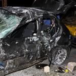 Car Accident Harrington Sound Road Bermuda Jan 24th 2011-1-11