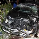 Car Accident Harrington Sound Road Bermuda Jan 24th 2011-1-12