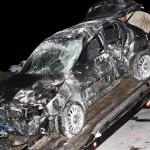 Car Accident Harrington Sound Road Bermuda Jan 24th 2011-1-21