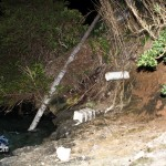 Car Accident Harrington Sound Road Bermuda Jan 24th 2011-1-3