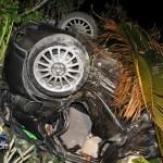Car Accident Harrington Sound Road Bermuda Jan 24th 2011-1-8