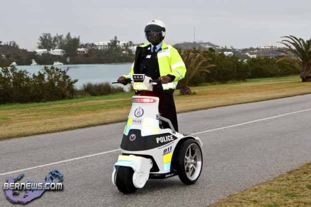T3 Police Trike Bermuda Jan 16th 2011-1