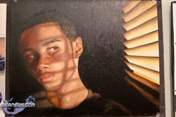 Nahshon Hollis Saltus Annual Schools Art Show Bermuda Feb 15th 2011-1