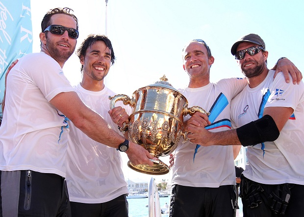 ARGO Gold Cup 2010 Winners Ben Ainslie and team