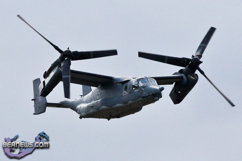 photos us air force aircraft depart bernews