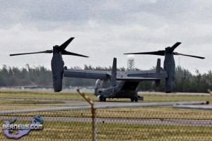 CV-22 Osprey US Air Force Aircraft  Bermuda Mar 21st 2011-1-6