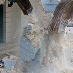 Demolition Old Hospital Building Paget Bermuda Mar 10th 2011-1-10