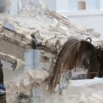 Demolition Old Hospital Building Paget Bermuda Mar 10th 2011-1-11