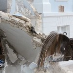 Demolition Old Hospital Building Paget Bermuda Mar 10th 2011-1-12