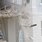 Demolition Old Hospital Building Paget Bermuda Mar 10th 2011-1-18