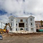 Demolition Old Hospital Building Paget Bermuda Mar 10th 2011-1-2