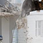 Demolition Old Hospital Building Paget Bermuda Mar 10th 2011-1-20