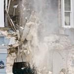 Demolition Old Hospital Building Paget Bermuda Mar 10th 2011-1-22