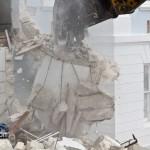 Demolition Old Hospital Building Paget Bermuda Mar 10th 2011-1-25