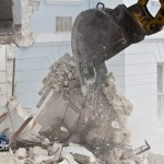 Demolition Old Hospital Building Paget Bermuda Mar 10th 2011-1-27