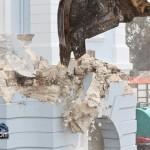 Demolition Old Hospital Building Paget Bermuda Mar 10th 2011-1-4