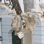 Demolition Old Hospital Building Paget Bermuda Mar 10th 2011-1-7