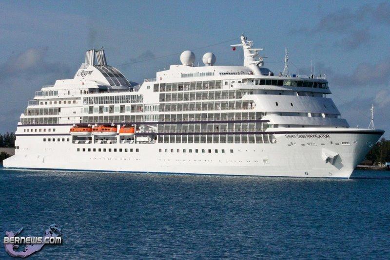 Seven Seas Navigator Cruise Visits Bermuda - Bernews