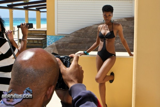 davika hill bermuda swimsuit model