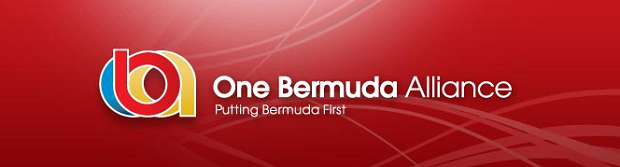 oba one bermuda alliance banner