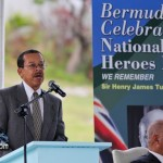 Bermuda National Heroes Day Induction Ceremony  June 19 2011 -1-27