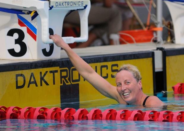 Lisa Blackburn bermuda swimmer