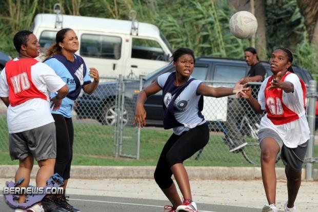 Netball  Bermuda June 21 2011