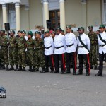 Queens Birthday Parade Bermuda Regiment Police Sea Cadets Reserve Police  June 18 2011 -1-2
