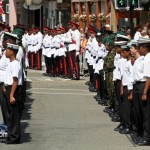 Queens Birthday Parade Bermuda Regiment Police Sea Cadets Reserve Police  June 18 2011 -1-32