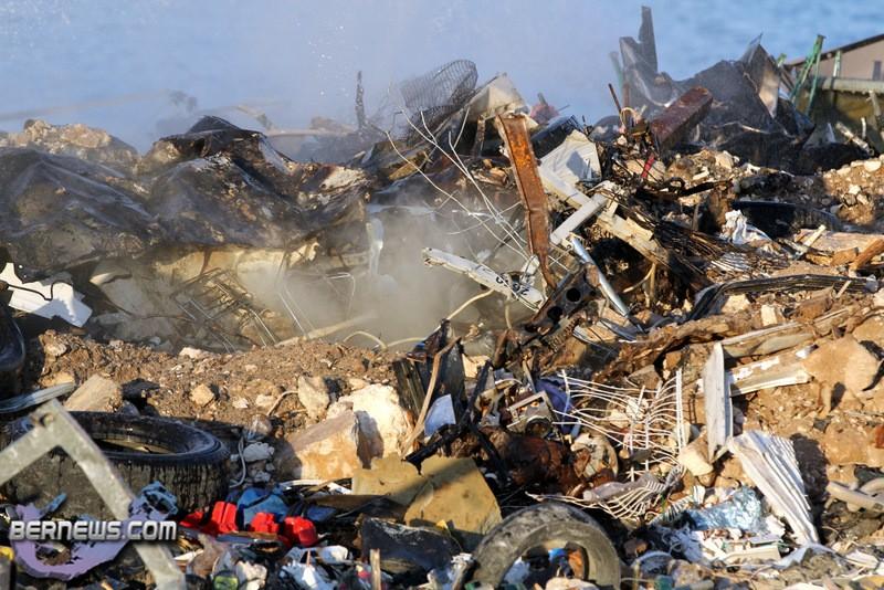 Photos/Video: Airport Dump Fire Contained - Bernews.com : Bernews.com