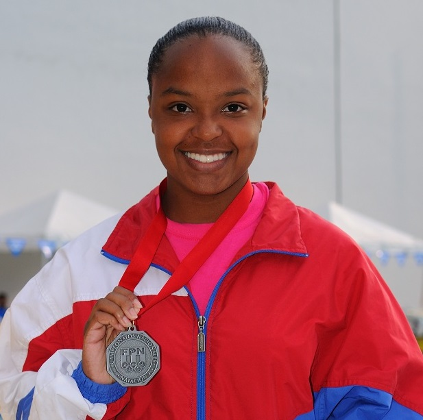 Ashley Yearwood Silver Medal Women 15-17 50 meter Butterfly