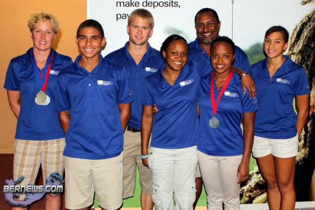 Bermuda Swimming Team 2011 Central American & Caribbean Championships July 3 2011