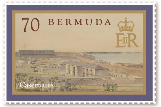 Casemates stamps (2)