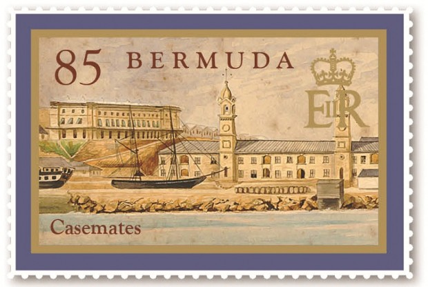 Casemates stamps (3)