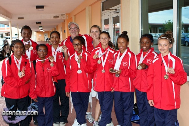 Gymnastics Team Bermuda Medal Winners Island Games July 10 2011-1_wm