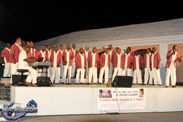 Mt Zion Male Voice Choir Bermuda July 21 2011-1-2