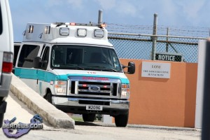 Helicopter Medivac Ambulnance Bermuda August 3 2011