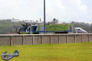 Helicopter Medivac Fire Rescue Bermuda August 3 2011 (3)