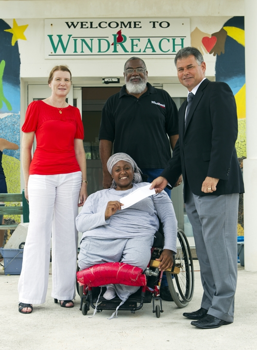 windreach bermuda donation august 2011 2