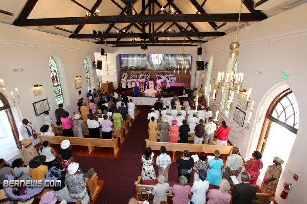 St Paul AME Church Court & Victoria Streets New Sanctuary Bermuda September 4 2011-1-35