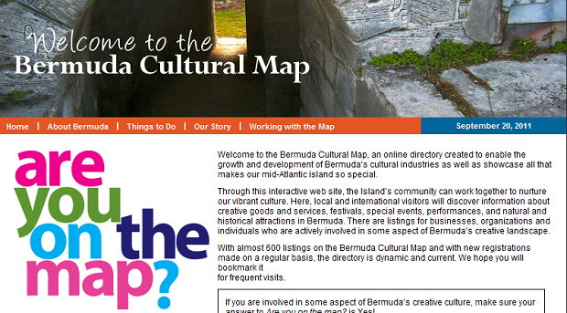 bermuda cultural map screenshot