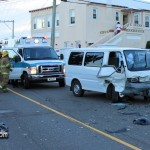 Car Van Accident Pembroke Bermuda October 17 2011-1-2