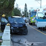 Car Van Accident Pembroke Bermuda October 17 2011-1-3