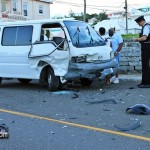 Car Van Accident Pembroke Bermuda October 17 2011-1-4