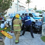 Car Van Accident Pembroke Bermuda October 17 2011-1-5