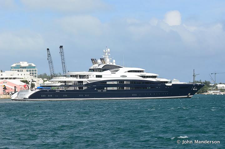 Super Yacht Serene Arrives In New York Bernews