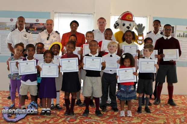 2014 fire prevention week poster contest award winners