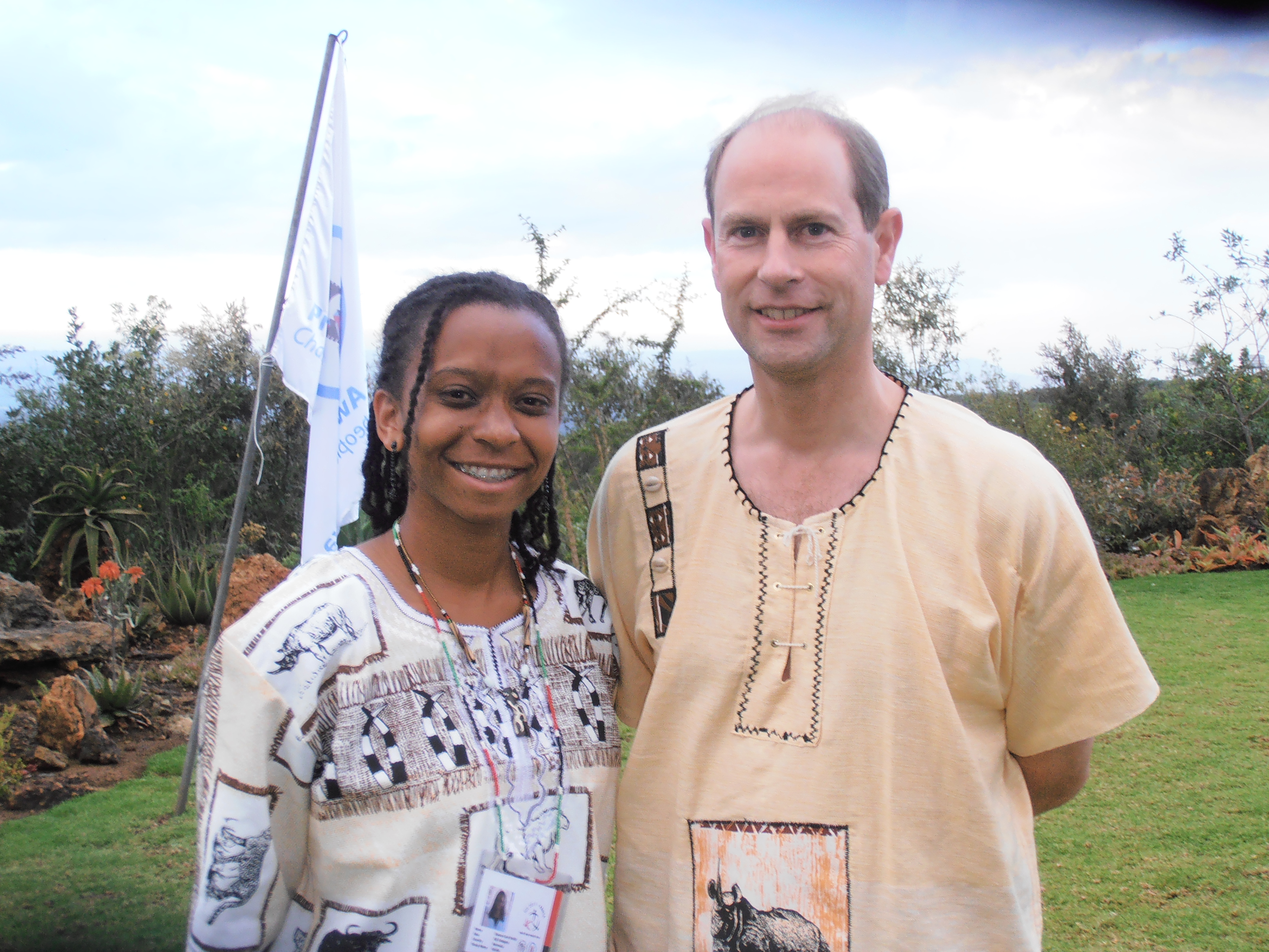 Stacee Smith: Youth Conference In Kenya - Bernews  Edward Earl Of Wessex Young